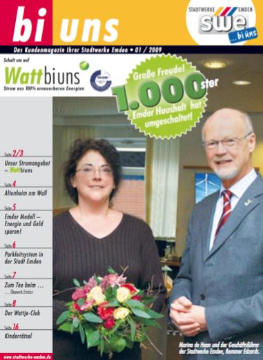 bi uns Ausgabe 01 / 2009